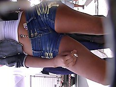 Jeans, Babe, Piercing, Tight, Xhamster.com