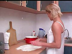 Kitchen, Russian, Old And Young, Xhamster.com