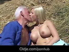 Bus, Blonde, Farm, Pornhub.com