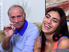 Wet, Teen, Old Man, Gotporn.com