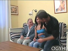 Teen, Old Man, Fat, Threesome, Gotporn.com