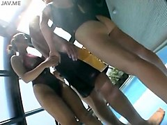 Group, Club, Swimsuit, Nuvid.com