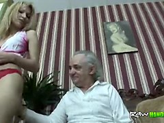 Blonde, Old Man, Txxx.com