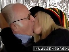Bus, Blonde, Old Man, Gotporn.com